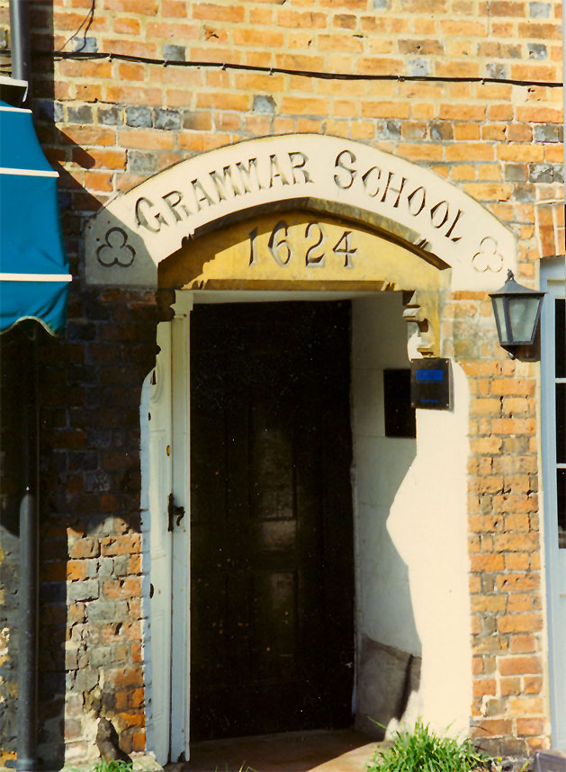 The original school building